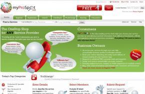 MyProSpot screenshot