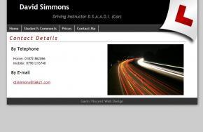 David Simmons - Driving Instructor screenshot