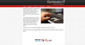 Outsource IT Solutions screenshot