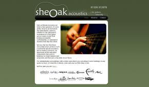 Sheoak Acoustics screenshot
